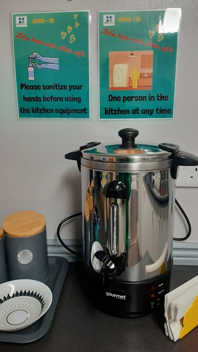 Kitchenette facilities at Your English Language School in Dublin