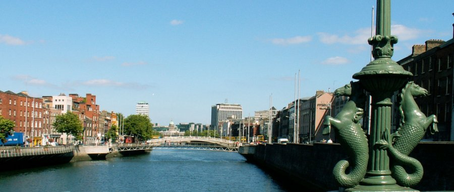 Bridges over the river Liffey