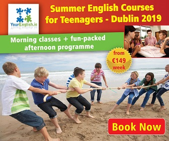 Summer camp for teenagers - English classes in Dublin
